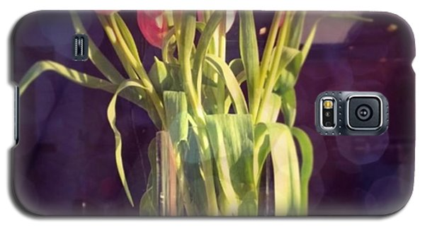 Floral Galaxy S5 Case - Pretty #tulip #flower #arrangement I by Shari Warren