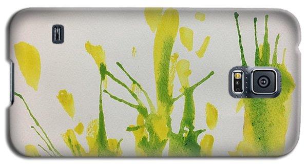 Pretty Weeds Galaxy S5 Case
