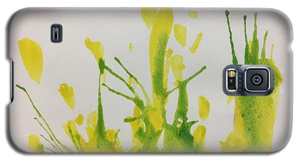 Pretty Weeds Galaxy S5 Case