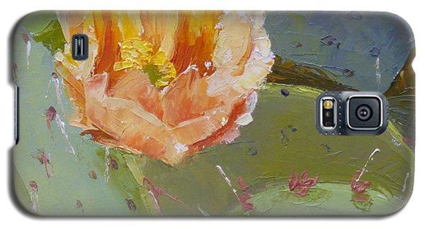 Prickly Pear Blossom Galaxy S5 Case