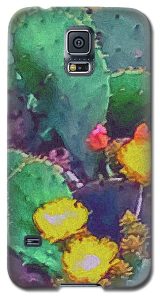 Prickly Pear Cactus 2 Galaxy S5 Case