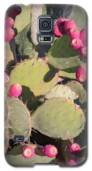 Prickly Pear Cactus Galaxy S5 Case