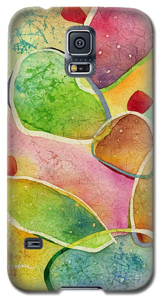 Galaxy S5 Case featuring the painting Prickly Pizazz 1 by Hailey E Herrera
