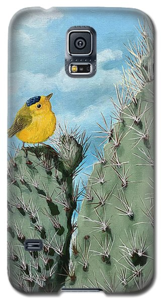 Prickly View - Wildlife Painting Galaxy S5 Case