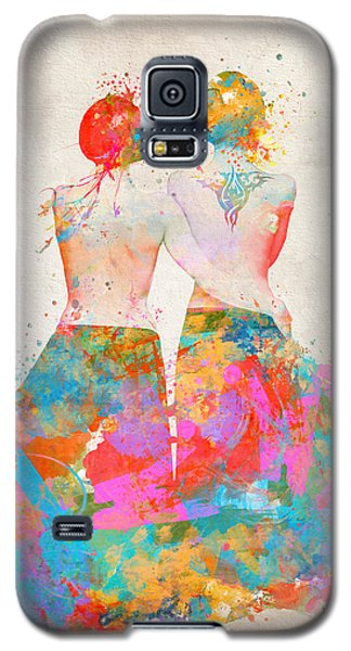 Galaxy S5 Case featuring the digital art Pride Not Prejudice by Nikki Marie Smith