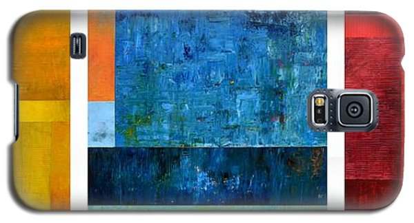 Galaxy S5 Case featuring the painting Primary - Artprize 2017 by Michelle Calkins