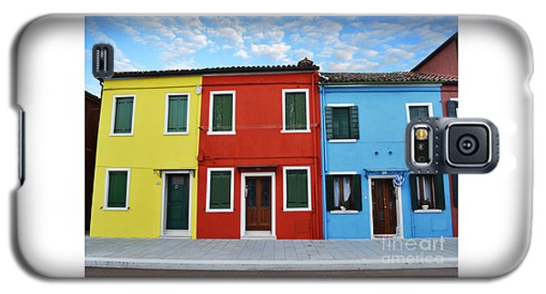 Primary Colors Too Burano Italy Galaxy S5 Case