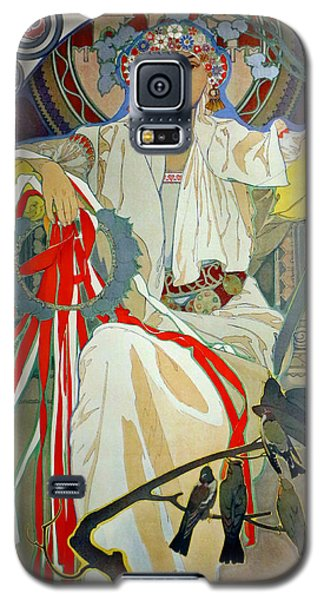 Galaxy S5 Case featuring the photograph Primavera 1914 by Padre Art