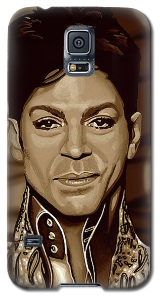 Rhythm And Blues Galaxy S5 Case - Prince 2 Gold by Paul Meijering