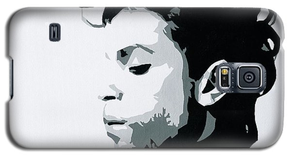 Galaxy S5 Case featuring the painting Prince by Ashley Price