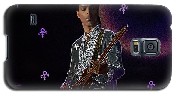 Galaxy S5 Case featuring the photograph Prince At Coachella by Ericamaxine Price