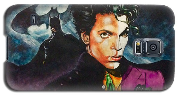Galaxy S5 Case featuring the painting  Prince Batdance by Darryl Matthews