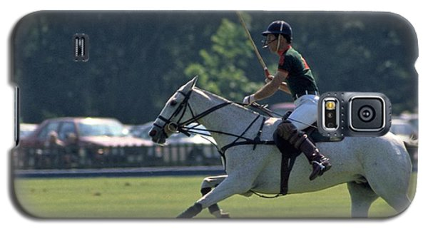 Prince Charles Playing Polo At Windsor Galaxy S5 Case