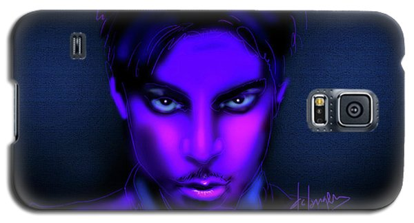 Galaxy S5 Case featuring the painting Prince by DC Langer