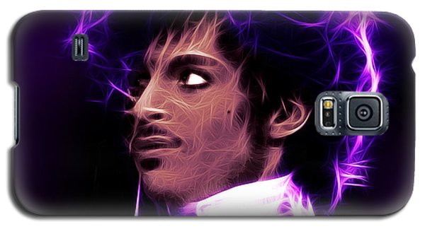 Galaxy S5 Case featuring the digital art Prince - His Royal Badness by Stephen Younts