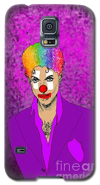 Galaxy S5 Case featuring the drawing Prince by Jason Tricktop Matthews