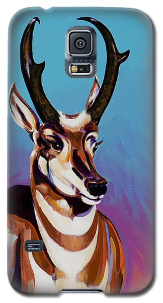 Galaxy S5 Case featuring the painting Prince Of The Prairies by Bob Coonts