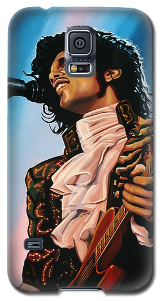 Prince Painting Galaxy S5 Case by Paul Meijering