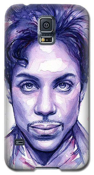 Prince Purple Watercolor Galaxy S5 Case