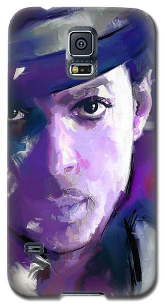 Galaxy S5 Case featuring the painting Prince by Richard Day