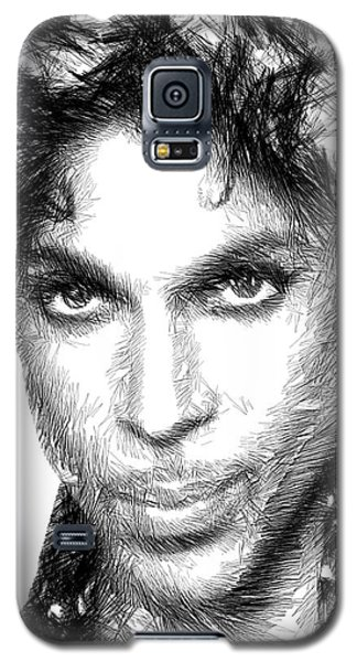 Prince - Tribute Sketch In Black And White Galaxy S5 Case
