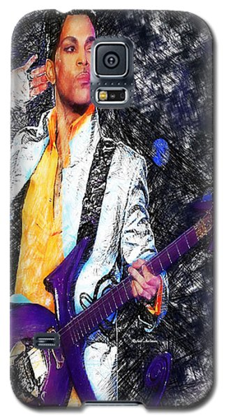 Prince - Tribute With Guitar Galaxy S5 Case