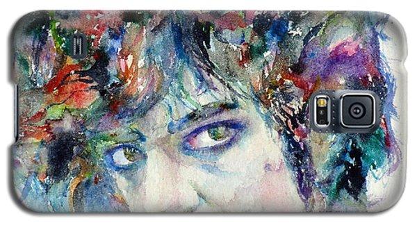 Prince - Watercolor Portrait Galaxy S5 Case by Fabrizio Cassetta