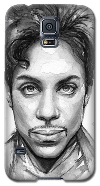 Dove Galaxy S5 Case - Prince Watercolor Portrait by Olga Shvartsur
