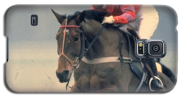 Princess Anne Riding Cnoc Na Cuille At Kempten Park Galaxy S5 Case