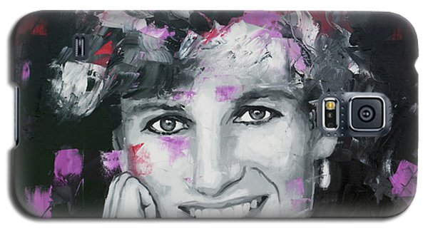 Galaxy S5 Case featuring the painting Princess Diana by Richard Day