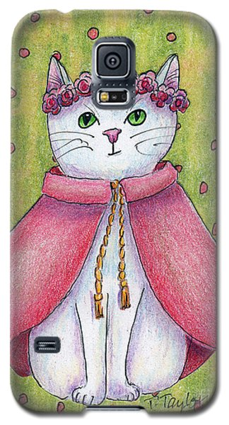 Galaxy S5 Case featuring the drawing Princess by Terry Taylor
