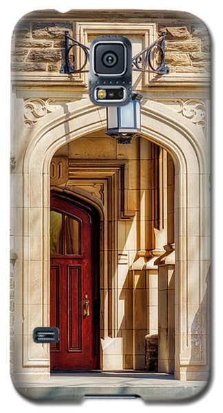 Galaxy S5 Case featuring the photograph Princeton University 1901 Laughlin Hall by Susan Candelario