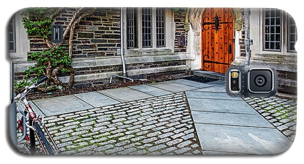 Galaxy S5 Case featuring the photograph Princeton University Foulke Hall by Susan Candelario