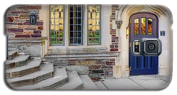 Galaxy S5 Case featuring the photograph Princeton University Lockhart Hall by Susan Candelario