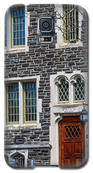 Galaxy S5 Case featuring the photograph Princeton University Patton Hall No 9 by Susan Candelario