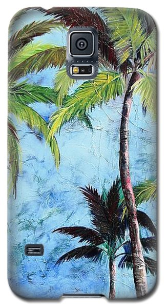 Princeville Palms  Galaxy S5 Case