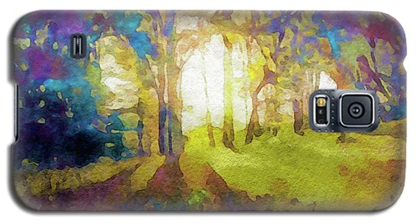 Prismatic Forest Galaxy S5 Case