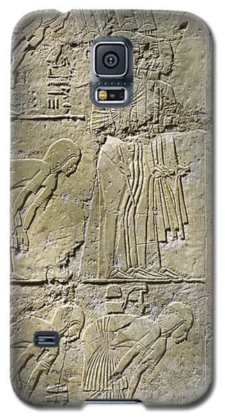 Private Tombs -painting West Wall Tomb Of Ramose T55 - Stock Image - Fine Art Print - Thebes Galaxy S5 Case