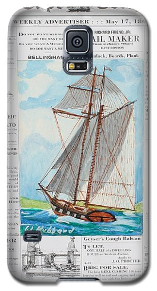Privateer Off Charleston, Sc Galaxy S5 Case