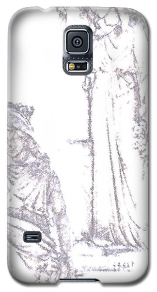 Galaxy S5 Case featuring the photograph Procession Of Faith 2 by Linda Shafer
