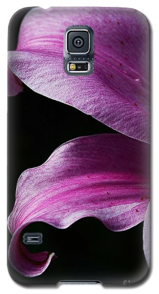Profile In Pink Galaxy S5 Case