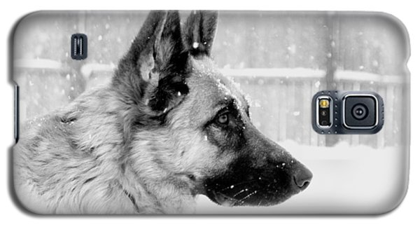 Profile Of A German Shepherd Galaxy S5 Case