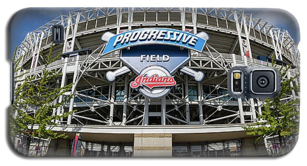 Galaxy S5 Case featuring the photograph Progressive Field by Dale Kincaid