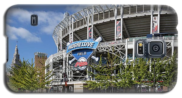 Galaxy S5 Case featuring the photograph Progressive Field In Cleveland Ohio by Dale Kincaid