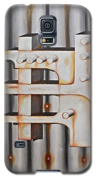 Galaxy S5 Case featuring the painting Project Object Series by John Stuart Webbstock