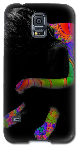 Projected Body Paint 2094915a Galaxy S5 Case