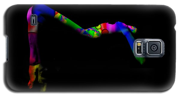 Projected Body Paint 2094947a Galaxy S5 Case