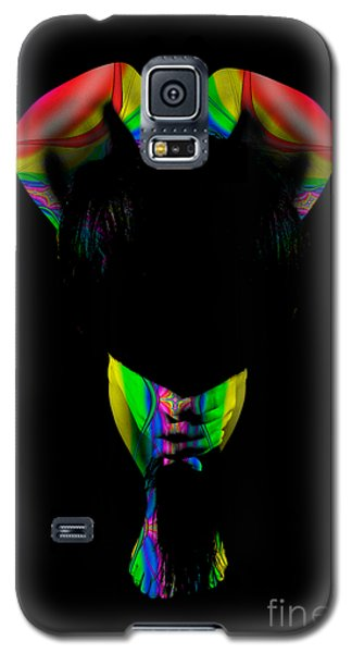 Projected Body Paint 2094999b Galaxy S5 Case