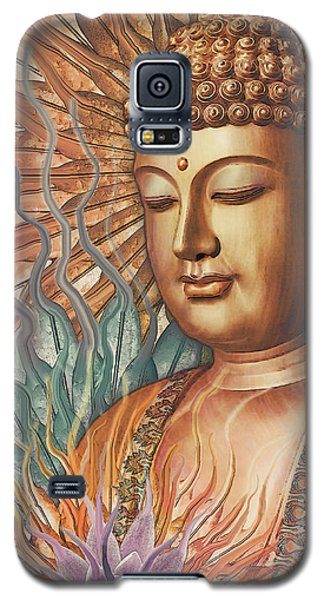 Proliferation Of Peace - Buddha Art By Christopher Beikmann Galaxy S5 Case