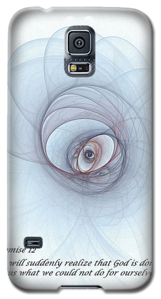 Promise 12 Footprints In The Sand Galaxy S5 Case